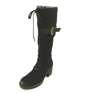 Vintage Foundry Co. Naomi Leather Knee High Boots